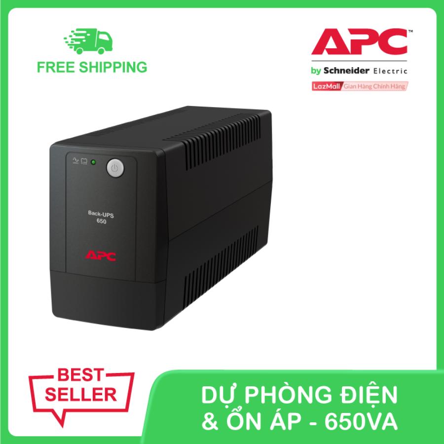 Bộ lưu điện APC Back-UPS 650VA 230V & ổn áp BX650LI-MS