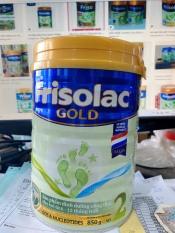 Sữa bột Frisolac Gold 2 hộp 850g – Mẫu Mới (cho bé 6 – 12 tháng) – HSD Luôn Mới