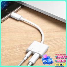Cáp Lightning To 3.5mm Và sạc cho iPhone sạc 5v/1a