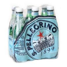 Lốc 6 chai nước khoáng có Gas San Pellegrino-PET 500 ml