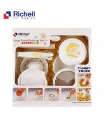 Bộ chế biến ăn dặm kiểu Nhật cho bé Richell 8 Món RC53371