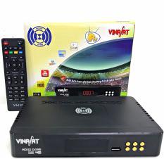 Đầu thu Truyền Hình Vệ Tinh Vinasat HD-02 dùng chảo (THVL1,2, ANTV, TTXVN,.HD Miễn Phí)