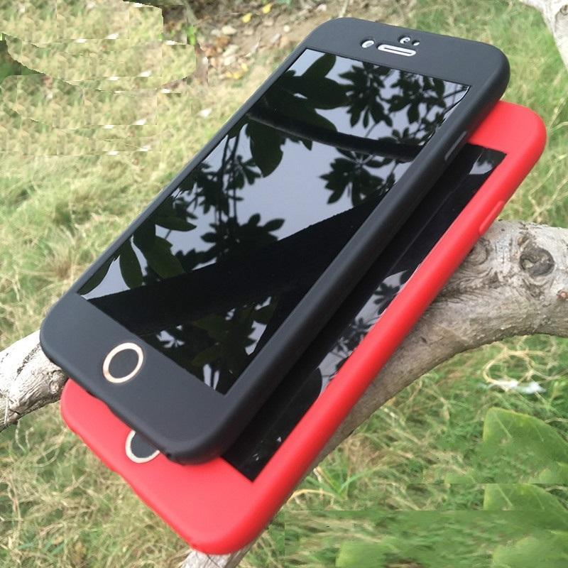 Ốp lưng Iphone 5/5s, 6/6s, 6/6s Plus chống sốc 360 độ