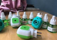 Combo 3 tinh dầu Electric Mosquito Liquid đuổi muỗi 45ml và đầu cắm xông tinh dầu đuổi muỗi