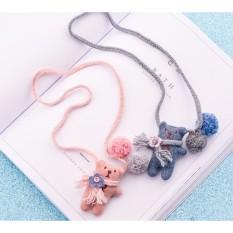 Vòng dây đeo cổ chú gấu dễ thương KTB009 pinkxinhdecor