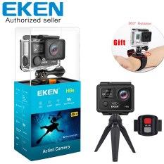 Camera hành động Sport cam chống rung Wifi ULTRA HD EKEN H9R, Bộ sp Camera hành trình eken h9r plus, Eken 4k ultra hd, Camera hành trình eken, Cam hành trình eken