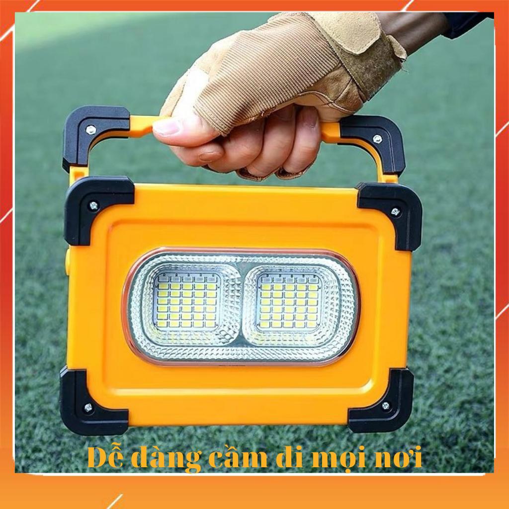 🔥 Đèn Năng Lượng Mặt Trời 🔥 Đèn Đa Năng Xách Tay Năng Lượng Mặt Trời 60W 🔥Sạc Pin Cho Điện Thoại