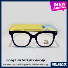 Kính mát cao cấp chống tia UV dành cho bé trai siêu dễ thương VN11018 – Kính râm thời trang cho trẻ từ 1 tới 6 tuổi – Tặng kèm túi đựng + Khăn lau