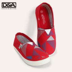 Giày slipon trẻ em D&A EP G1945 Đỏ