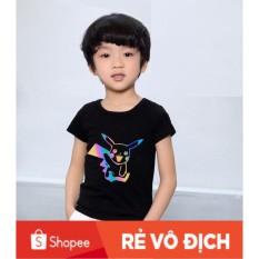 [ Bé Yêu Store❤ ] Áo Thun Trẻ Em Phản Quang Pikachu
