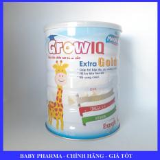 Sữa bột tăng trưởng chiều cao, trí não cho trẻ Grow IQ Export 900g