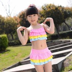 Bộ đồ bơi bé gái dễ thương 2 mảnh (6 – 8 tuổi)