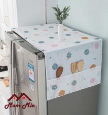 [HCM] Tấm phủ tủ lạnh nhựa PEVA cho tủ 2 cửa chống thấm chống bụi – J101 J193