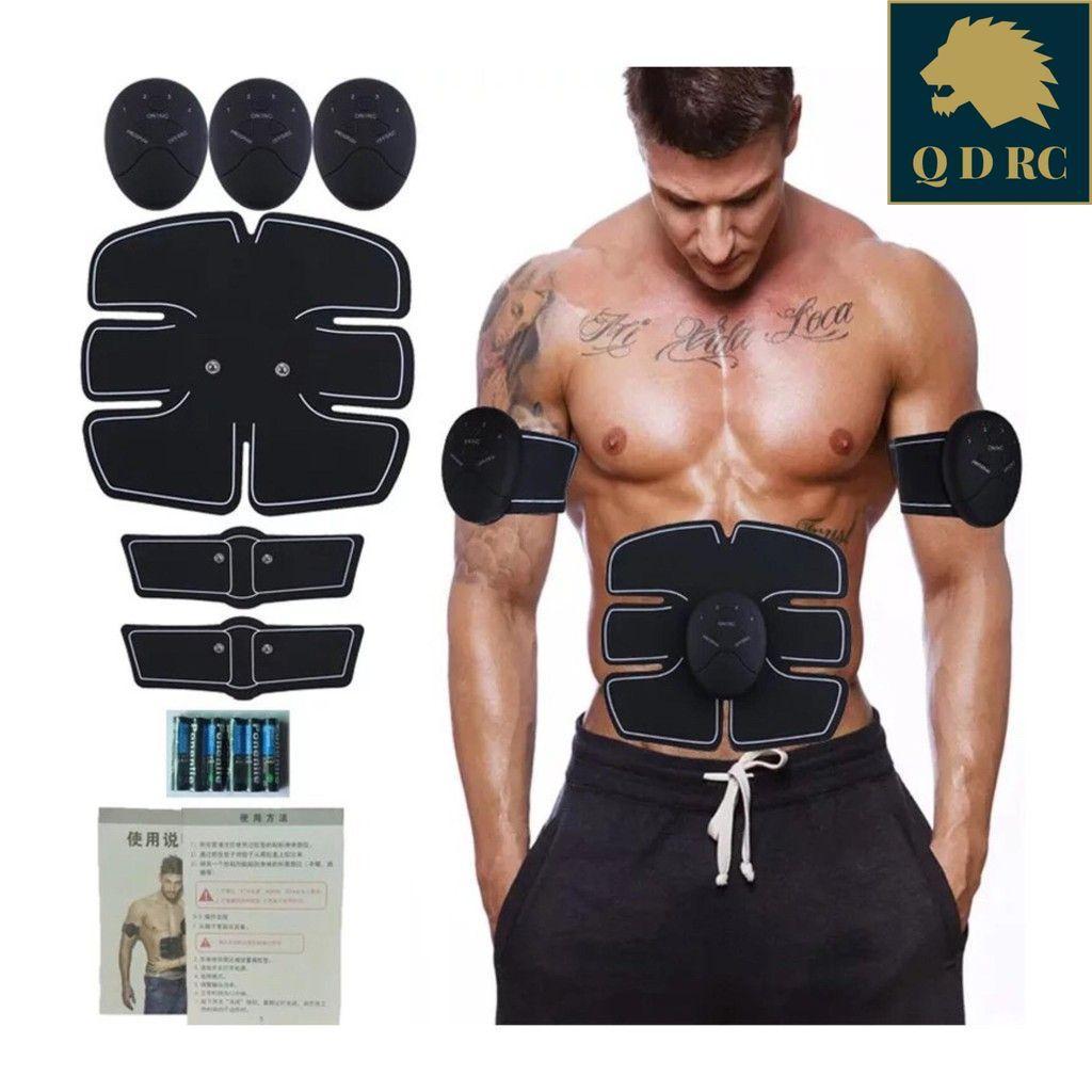 Bộ 3 Máy 10 Múi Tập Cơ Bụng Massage Xung Điện EMS Body (6 múi tập bụng và 4 múi...