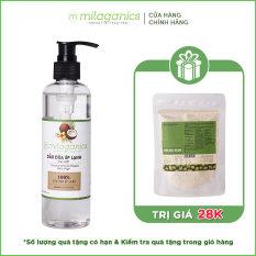 Dầu dừa ép lạnh tinh khiết 3 dưỡng da – tóc môi MILAGANICS 250ml