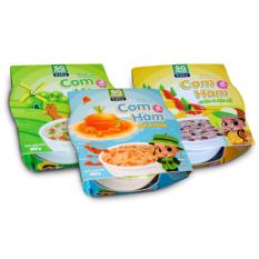 Combo 3 Cơm Hầm Sài Gòn Food 150G (Bò – Cá Lóc – Tôm)