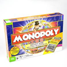 Cờ Tỷ Phú Monopoly Here & Now: The World Edition Chất Lượng Cao