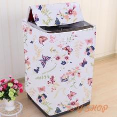 Áo trùm máy giặt 7kg – 8kg – vải Satin – cửa trên và cửa ngang
