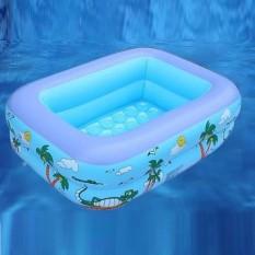 Bể phao bơi 2 tầng 1m2 nhiều họa tiết, chất liệu an toàn cho bé – Giao mẫu ngẫu nhiên