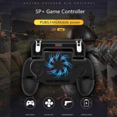 Tay Cầm Chơi Game PUBG, Liên Quân Mobile Cao Cấp Có Quạt Tản Nhiệt Kiêm Sạc Dự Phòng – GamePad SP+