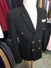 Áo vest nam 6 nút màu đen form ôm body chất vải dày mịn