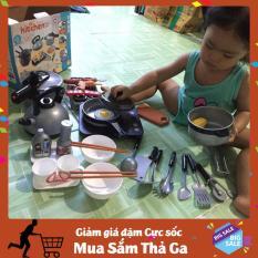 [LOẠI XỊN] Bộ đồ chơi nấu ăn nhà bếp mini 36 chi tiết cho bé hàng xuất nhật H5690