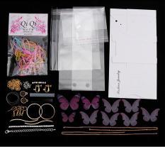 Bộ nguyên liệu tự diy làm phụ kiện thời trang hình bướm – PK021