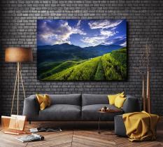 Tranh treo tường phong cảnh VIỆT NAM 60 x 90cm – In phun UV trên vải CANVAS bền màu bọc khung gỗ sang trọng.
