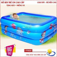 Bể bơi cho bé trong nhà đáy chống trượt, bể bơi 2 tầng, bể bơi 3 tầng hình chữ nhật, hồ bơi trẻ em, bồn tắm trẻ em bơm hơi, bể phao bơi cho bé,bể bơi phao đại dương trẻ em,phao bơi hình chữ nhật