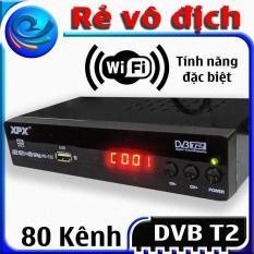 Đầu thu kỹ thuật số Dvb t2 – XPX – dau thu truyen hinh mat dat Dvb t2- Full HD 1080p thu được hơn 80 kênh truyền hình phổ thông