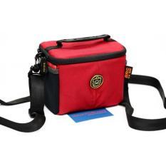 Túi Máy ảnh mini Mirrorless Baroca BRC-805 – Nhỏ gọn, chống thấm (Red)