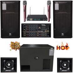 Dàn karaoke sân khấu trong nhà ngoài trời KMP – 8800S (CAO CẤP)