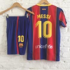 Bộ quần áo bóng đá Ngôi sao Messi Barca sân nhà mới nhất 2021