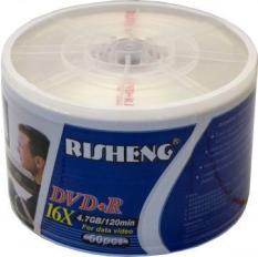 Đĩa DVD trắng RISHENG 1 hộp 50 đĩa – DVD TRANG ,DIA TRANG CAO CẤP 4.7G