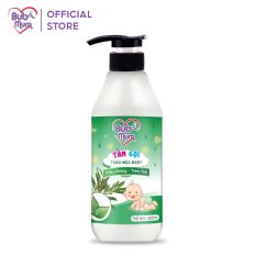 Sữa tắm cho bé 2 in 1 – tắm gội toàn thân BuB&MuM chiết xuất Trầu Không 500ml