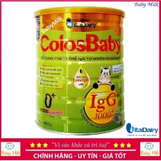 Sữa non Colosbaby gold 1000igG 0+ 800g cho trẻ 0-12 tháng