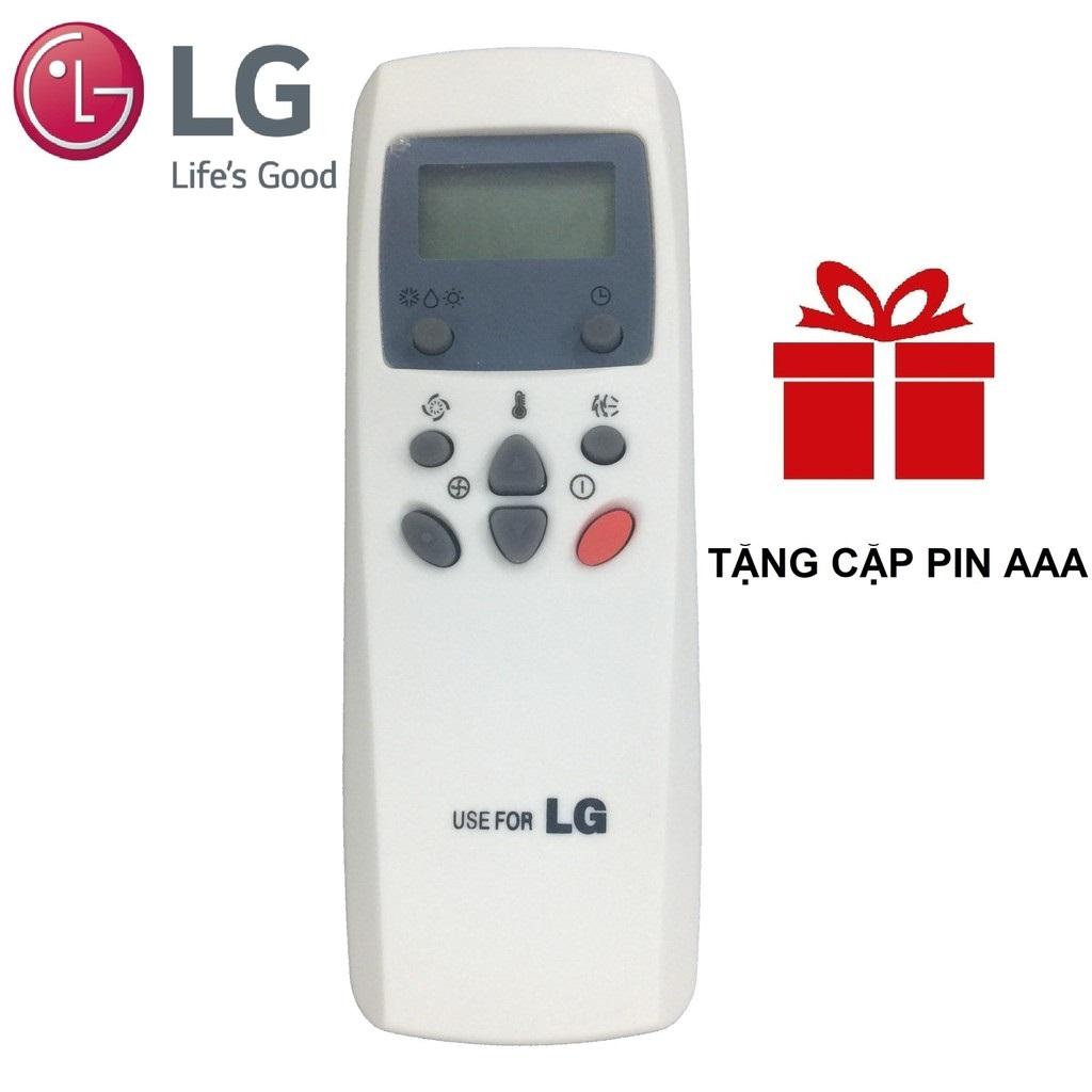 [Nhập ELJAN11 giảm 10%, tối đa 200k, đơn từ 99k]LG nhỏ - Remote điều khiển máy lạnh LG - MLLG4