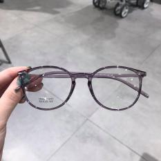 Kính gọng Mắt tròn Nhựa siêu dẻo Hàn Quốc 21471 (XÁM)