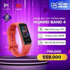 [HÀNG CHÍNH HÃNG – ĐỘC QUYỀN LAZADA] Vòng đeo tay thông minh Huawei Band 4 – Màn hình màu TFT – TruSleep 2.0 – Chống nước 5ATM – Đa chế độ thể thao