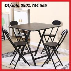 Bộ bàn ghế gỗ gấp gọn