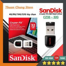 USB Sandisk 2.0 Siêu nhỏ gọn 4GB / 8GB / 16GB / 32GB Bảo hành 10 năm 1 đổi 1
