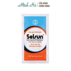 Dầu gội Selsun Anti-Dandruff Shampoo sạch gàu và hết ngứa da đầu – gói dùng thử 5ml
