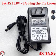 Sạc Pin Máy Khoan 4S 16.8V – 2A dùng cho Pin Li-ion (Lithium-ion) , Có Đèn Báo Đầy Pin