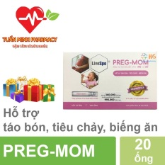 Preg- Mom – Bào Tử Lợi Khuẩn Thế Hệ Mới Cho Mẹ Và Bé