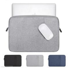 Túi 2 ngăn BUBM chuyên dụng đựng laptop 13inch, 15inch có lớp chống sốc, lớp lót nhung nỉ mịn có ngăn đựng chuột, cáp sạc