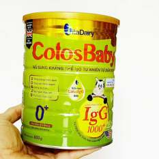 (Date mới) Sữa non Colosbaby 0+ 800gr