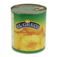 Đào ngâm El Greco Hy Lạp 820g