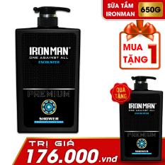 Sữa tắm nam hương nước hoa thơm lâu Encounter 650g Tặng sữa tắm nhiệt Ironman Encounter 650g