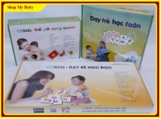 Combo 3 bộ thẻ flash card chuẩn glenn doman | Bộ Thế giới xung quanh 300 thẻ – Bộ Dạy trẻ học toán 109 thẻ – Bộ Dạy trẻ học đọc 300 thẻ