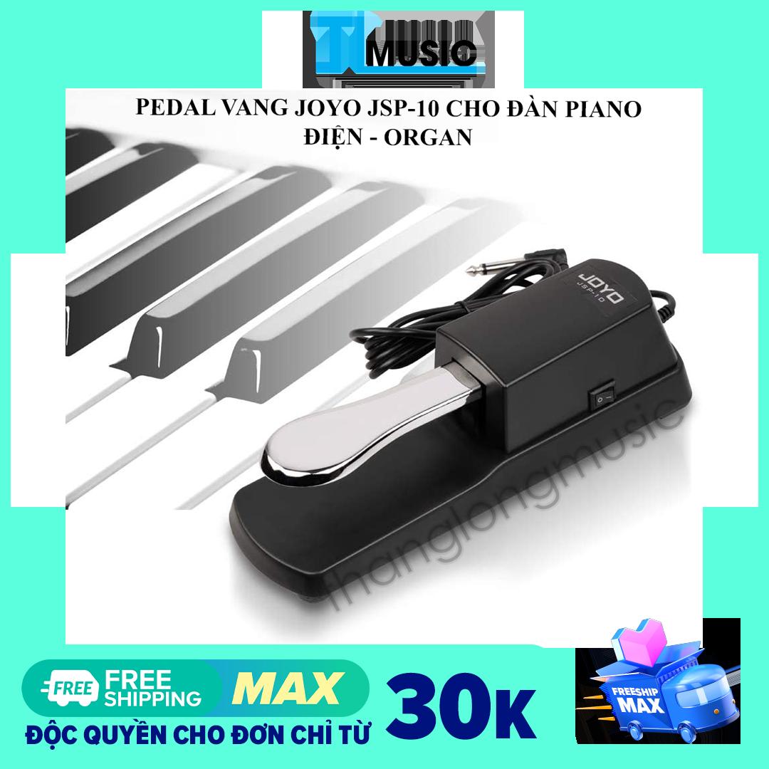 Pedal vang – Sustain Pedal Joyo JSP-10 Có công tắc đổi chiều dùng cho đàn Organ và piano điện